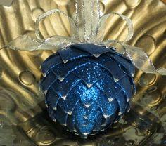 Christmas Ornaments ~ Handmade Pine Cones