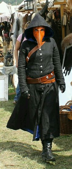 Mens halloween costumes doctor Plague Doctor at medieval festival 2012 by on : Plague Mask, Plague Doctor Mask, Plague Dr, Steampunk Cosplay, Steampunk Fashion, Fantasy Costumes, Cosplay Costumes, Larp, Doctor Costume
