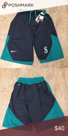 Seattle Mariners Nike Dri-Fit AC Knit Shorts Seattle Mariners Nike Dri-Fit Authentic Collection Knit Shorts. Save money by bundling with other items in my store. Nike Shorts Athletic