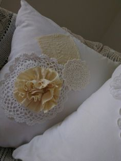 Shabby cushion