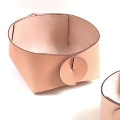 Circle - leather baskets #nordicdesigncollective