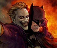 Joker hace un plan para eliminar a batman pero habrá un cambio de pla… # De Todo # amreading # books # wattpad Art Du Joker, Le Joker Batman, Batman Art, Joker And Harley Quinn, Superman, Batman Stuff, Comic Book Characters, Comic Character, Comic Books Art