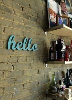 """front door """"welcome"""""""
