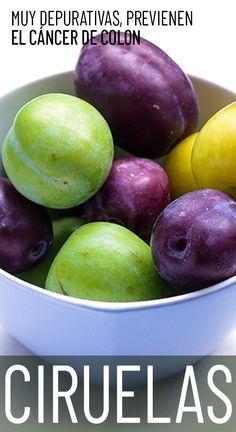 Mejoran el tránsito intestinal y actúan contra el envejecimiento. Plum, Fruit, Natural, Food, Allergies, Vitamin E, Lower Cholesterol, Clean Foods, Nature