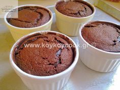 Mini Cakes, Muffin, Food And Drink, Pudding, Breakfast, Desserts, Lava, Morning Coffee, Tailgate Desserts
