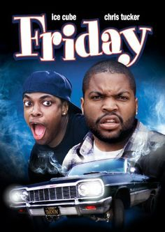 This comedy with a strong hip-hop soundtrack features Craig (Ice Cube), who manages to get fired on his day off and spends the day hanging out with his buddy Smokey (Chris Tucker). Friday 1995, Friday Movie, Chris Tucker, Streaming Hd, Streaming Movies, Love Movie, Movie Tv, African American Movies, Movie Posters