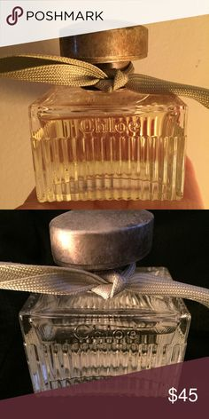 L'Eau de Chloe perfume L'Eau de Chloe perfume was introduced in 2012 by the design house of Chloe. This modern women's fragrance features a distinctive blend of rose petals, patchouli and lemon. 50mil, sprayed 5-6 times, no box Chloe Other