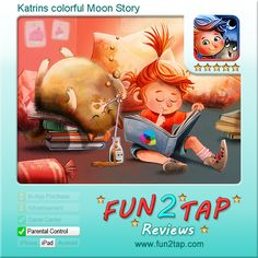 Katrins colorful Moon Story - A whole new genre: science fairy fiction. Full review at: http://fun2tap.com/index.cfm#id2224 --------------------------------- #storybook #reading #readers #edtech #mlearning #mobilelearning # #kidsapps #kidlit #books #ece #education #homeschool