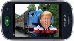 Fajny dzwonek na telefon komórkowy - Thomas the Trump