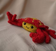 Ravelry: Cedric Crab pattern by aisha kenza