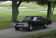 1967 Chevrolet Impala Maintenance/restoration of old/vintage vehicles: the… Black Chevy Impala, Impala Car, Chevrolet Impala 1967, Chevy Jokes, Sexy Cars, Amazing Cars, Awesome, Fast Cars, Cool Cars