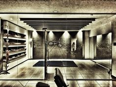 Strength Room Health Fitness, Strength, Stairs, Gym, Club, Living Room, Home Decor, Stairway, Decoration Home