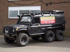 6X6 Land Rover Defender