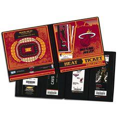 Miami Heat Ticket Album, Multicolor
