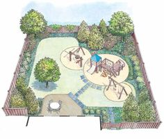 HWBDO11543 - Landscape Plan from BuilderHousePlans.com
