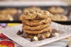 Triple Chocolate Chip Malt Cookie