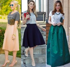 grafic tee with skirts