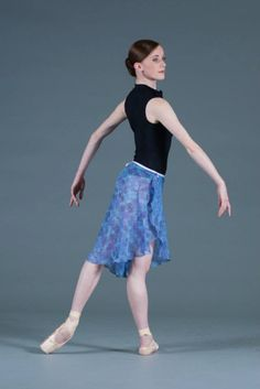 Long Original Wrap - Tulips by Tracy - Custom ballet Skirts