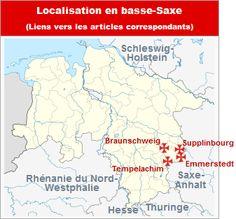 Commanderies templières dans la Basse-Saxe, Allemagne