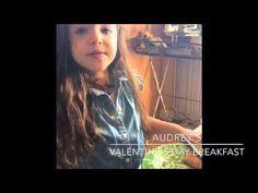 Baking with kids  Kids baking and fun!! Valentine's Day breakfast fun!