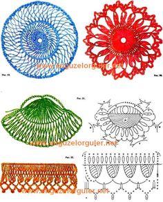 Variações do crochê de grampo