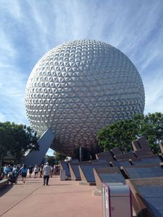 Epcot's Giant Golf Ball