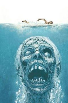 Jaws, if it was a movie about giant underwater zombies instead of a giant underwater shark