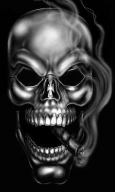 Cigar skull