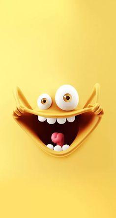 Funny wallpaper iphone funny cute wallpaper iphone веселые о::…Click h. Wallpaper Iphone Love, Wallpaper Keren, Best Iphone Wallpapers, Emoji Wallpaper, Trendy Wallpaper, Cellphone Wallpaper, Funny Wallpapers, Cool Wallpaper, Mobile Wallpaper