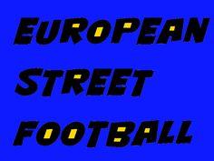 "Logo del campionato europeo di pallastrada ""European street football"""