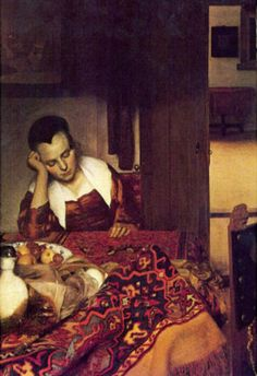 Johannes Vermeer - Woman asleep