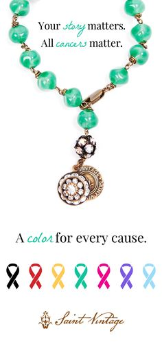 Will you help prevent cancer with us? Purchase your cancer awareness bracelet & 50% of proceeds will be donated to cancer research! #acolorforeverycause