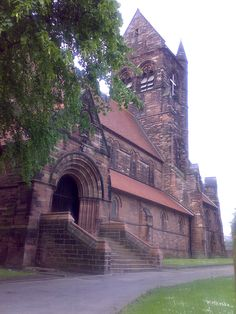 St Chad's Church in Kirkby