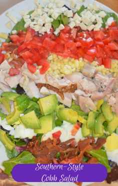 Carla Hall made a delicious Southern Cobb Salad recipe on The Chew with the help of her lawyer husband Matthew, who was surprisingly good at cooking. http://www.foodus.com/the-chew-carla-hall-southern-cobb-salad-recipe/