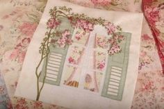 Maand 3 patroon voor English Country Garden Quilt