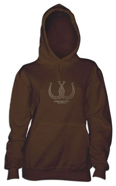 ada997c6e Country Girl Hoodie Country Girl Style, Country Girls, Horseshoes, Play  Dress, Hooded