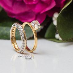 af4f18871fa3e Os dois queridinhos unidos anel aparador e anel solitário