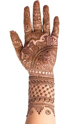 Each and every girl desires her hands colored with henna. Check out, some exclusive and stylish mehndi designs that can be applied easily and in no time. Mehandhi Designs, Full Hand Mehndi Designs, Henna Art Designs, Stylish Mehndi Designs, Mehndi Designs 2018, Mehndi Designs For Beginners, Mehndi Designs For Girls, Wedding Mehndi Designs, Dulhan Mehndi Designs
