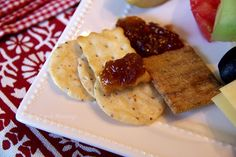 Well Take a Cup of Kindness - Back Porch Musings Wine, Cheese, Fruit, Fig Spread