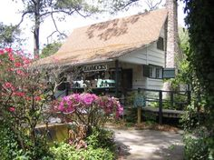 The Hammock Shops in Pawleys Island, SC. You can't miss these shops if you are on the South Carolina coast!