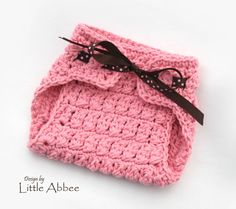 CROCHET PATTERN The Hailey Diaper Cover with texture sizes newborn to 24 months included PDF 29. $3.99, via Etsy.