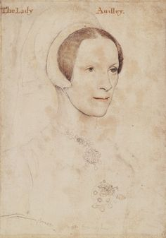 Elizabeth, Lady Audley (d.1564) by Hans Holbein the Younger