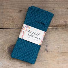 Sandra Juto — Original Wrist Worms, Merino Wool, Turquoise