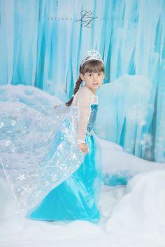Frozen Photoshoot in Katy, TX. Princess Elsa