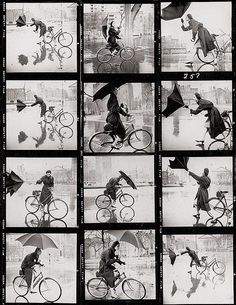 istanbulconstantinople:    Contact sheet by Tom Palumbo, Vogue and Harper's Bazaar photographer.