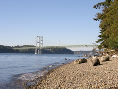 Titlow Beach, Tacoma,.Washington~~This is a great place to walk.  Also have a great picture of this site with Gabby and Sylvia.