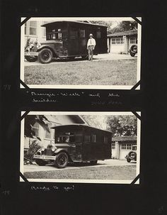 """As their love for traveling to national parks grew, Edward Gehrke decided he and his wife Margaret needed a """"house car"""" to provide both transportation and shelter. He built the """"Bungie Weck"""" in his back yard in Lincoln, Nebraska."""