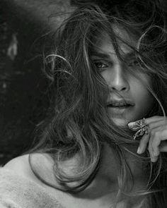 woman, femininity, wind