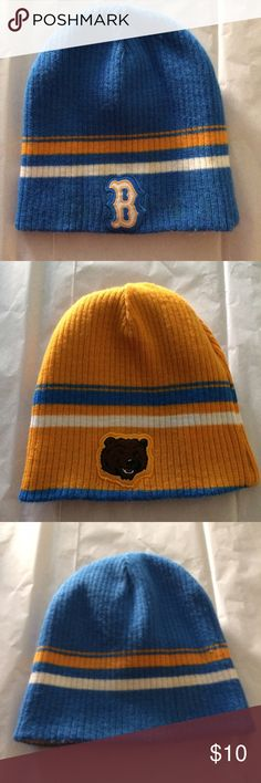 Reversible UCLA Bruin Beanie Reversible UCLA Bruin Beanie! Calling all Mighty Bruins!!!! 🐻⭐️️ Fight, Fight, Fight!! Price Firm! No Trades! Accessories Hats