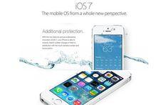 ¡POR APAES!!! Sumergieron su iPhone en agua por falsa publicidad de iOS 7